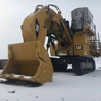 CAT 6018 electric shovel